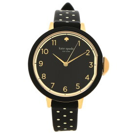 【72時間限定ポイント10倍】ケイトスペード 腕時計 レディース ブラック KSW1355
