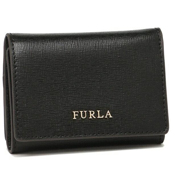 【期間限定ポイント10倍】フルラ 折財布 レディース FURLA 894700 PR83 B30 O60 ブラック クリスマスセール