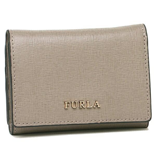 フルラ 折財布 レディース FURLA 908192 PR83 B30 SBB ライトグレー