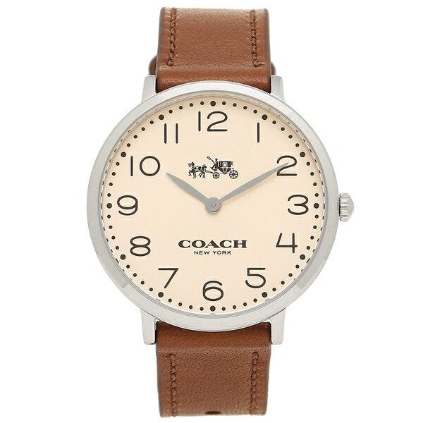 コーチ 時計 レディース COACH 14502682 ベージュ ブラウン シルバー