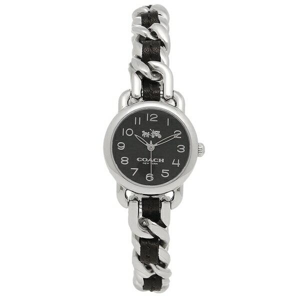 【期間限定ポイント10倍】コーチ 腕時計 レディース COACH 14502725 ブラック シルバー クリスマスセール