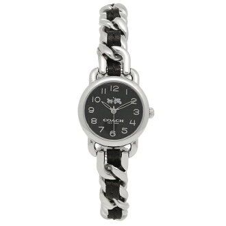 Coach watch Lady's COACH 14502725 black silver