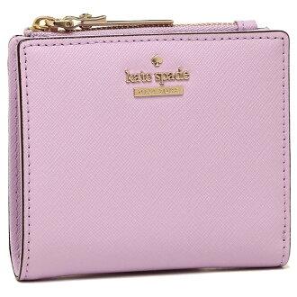 케이트 스페이드 반접기 지갑 레이디스 KATE SPADE PWRU5451 591 라이트 핑크
