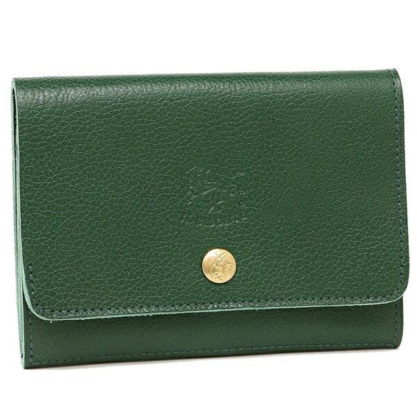 イルビゾンテ 折財布 メンズ/レディース IL BISONTE C0522 P 293 グリーン