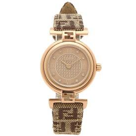 【48時間限定ポイント10倍】【返品保証】フェンディ 腕時計 レディース FENDI F275272DF ピンクゴールド ブラウン