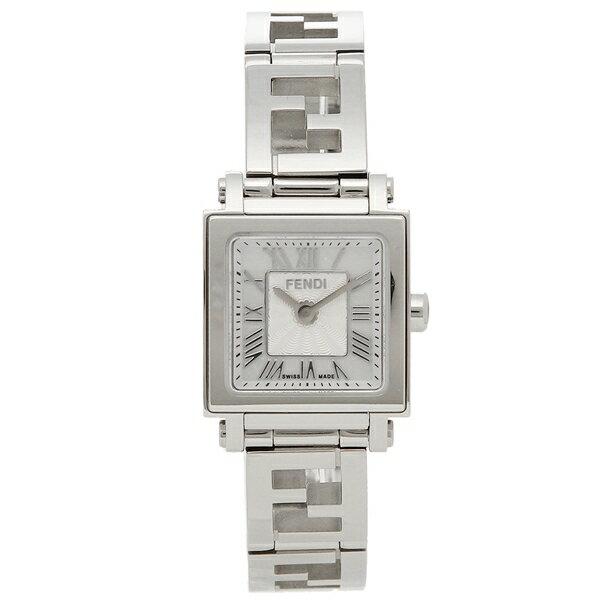 【58時間限定ポイント5倍】フェンディ 腕時計 レディース FENDI F605024500 ホワイトパール シルバー