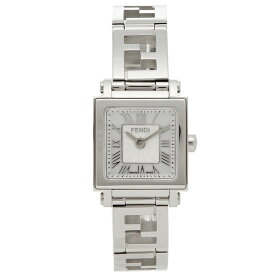 【24時間限定ポイント10倍】【返品OK】フェンディ 腕時計 レディース FENDI F605024500 ホワイトパール シルバー