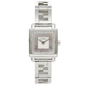 【48時間限定ポイント10倍】【返品保証】フェンディ 腕時計 レディース FENDI F605027500 ピンクパール シルバー
