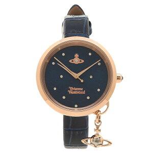 【6時間限定ポイント5倍】【返品OK】ヴィヴィアンウエストウッド 腕時計 レディース VIVIENNE WESTWOOD VV139NVNV ブラック イエローゴールド ブルー