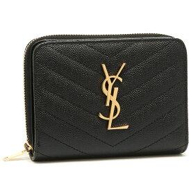 【返品OK】サンローラン 折財布 レディース SAINT LAURENT PARIS 403723 BOW01 1000 ブラック