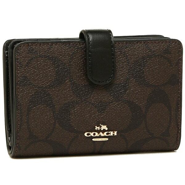 コーチ 折財布 アウトレット レディース COACH F23553 IMAA8 ブラウン