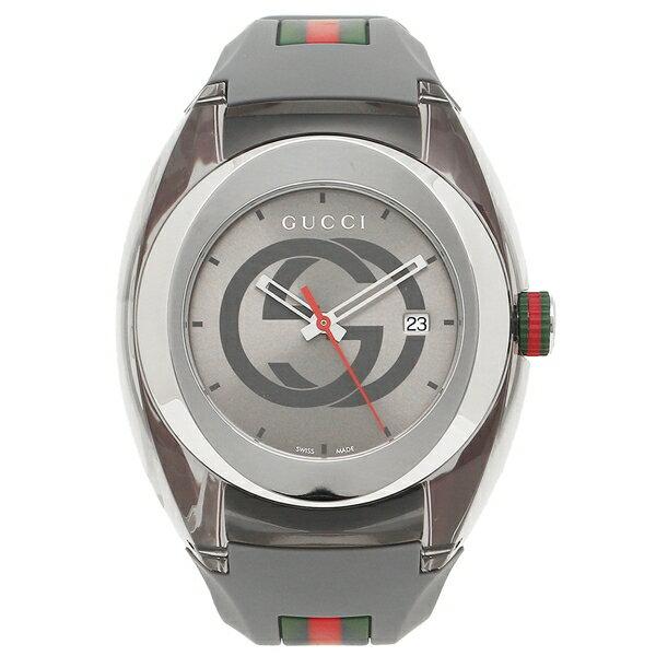 グッチ 時計 メンズ/レディース GUCCI YA137109 グレー シルバー