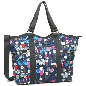 Reply port case tote bag shoulder bag Lady's LESPORTSAC 9811 D865 HIKING DAY Christmas sale