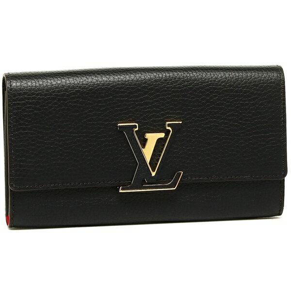 ルイヴィトン 長財布 レディース LOUIS VUITTON M61248 ブラック
