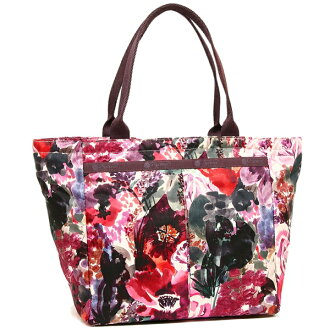 Reply port case tote bag Lady's LESPORTSAC 7470 D985 HARMONY FLORAL