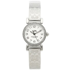 78cda7383be3 コーチ 腕時計 レディース COACH 14502870 ホワイト シルバー