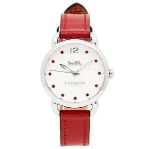 コーチ 腕時計 レディース COACH 14502905 レッド ホワイト シルバー