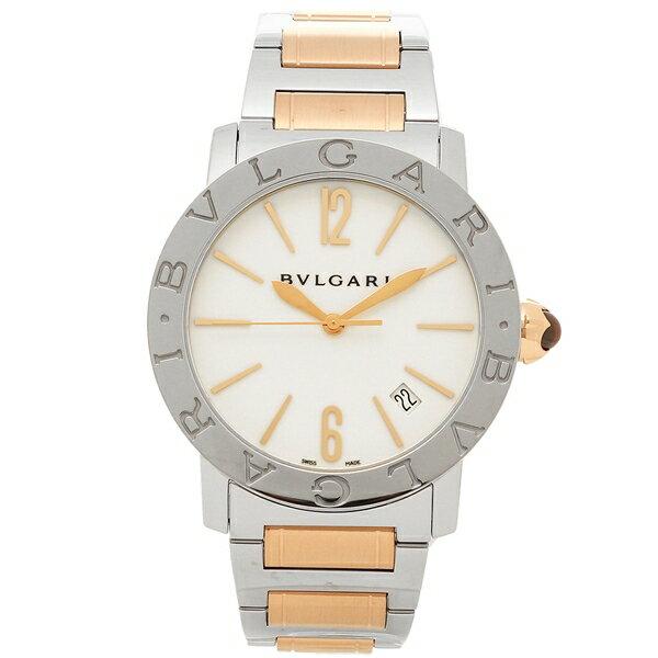 ブルガリ 腕時計 レディース BVLGARI BBL37WSSPGD ホワイト ピンクゴールド シルバー