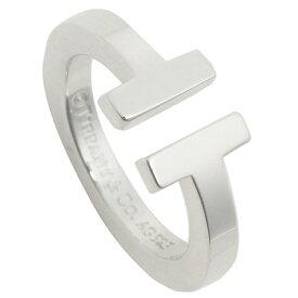 【返品OK】ティファニー リング アクセサリー TIFFANY&Co. Tスクエア T SQUARE RING レディース 指輪 シルバー