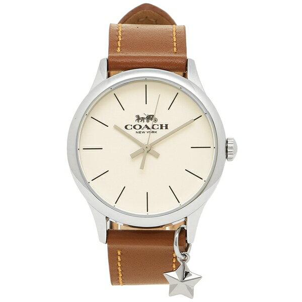 コーチ 腕時計 レディース アウトレット COACH W1549 SAD ブラウン ホワイト シルバー
