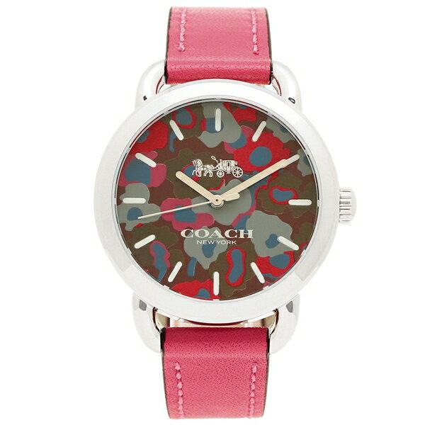 コーチ 腕時計 レディース アウトレット COACH W1534 MAG マゼンダピンク シルバー
