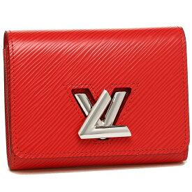 【4時間限定ポイント10倍】【返品OK】ルイヴィトン 二つ折り財布 レディース LOUIS VUITTON M64413 レッド