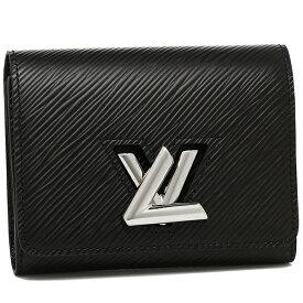 【4時間限定ポイント10倍】ルイヴィトン 二つ折り財布 レディース LOUIS VUITTON M64414 ブラック