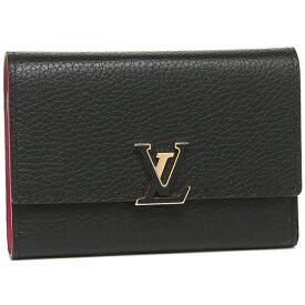 【6時間限定ポイント10倍】【返品OK】ルイヴィトン 折財布 レディース LOUIS VUITTON M62157 ブラック