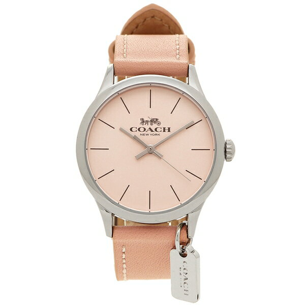 【6時間限定ポイント5倍】コーチ 腕時計 レディース アウトレット COACH アウトレット W1549 BLH シルバー ピンク