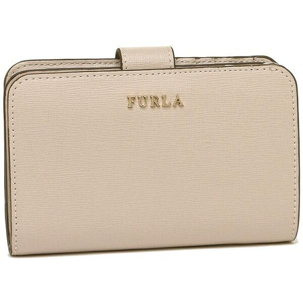 フルラ 折財布 レディース バビロン FURLA 929015 PR85 ベージュ