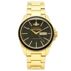 【26時間限定ポイント5倍】ヴィヴィアンウエストウッド 腕時計 メンズ VIVIENNEWESTWOOD VV063GD ブラック ゴールド