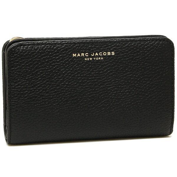 マークジェイコブス 折財布 MARC JACOBS M0013382 065 ブラック