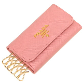 Prada key case Lady's PRADA 1PG222 QWA F0442 pink