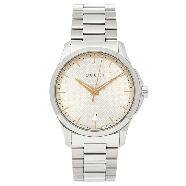【24時間限定ポイント5倍】グッチ 腕時計 メンズ GUCCI YA1264052 シルバー