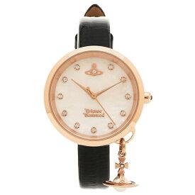 ヴィヴィアンウエストウッド 腕時計 レディース VIVIENNE WESTWOOD VV139WHBK パール ブラック ローズゴールド