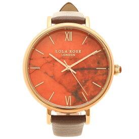 【返品保証】ローラローズ 腕時計 レディース Lola Rose LR2018-1 ブラウン オレンジ
