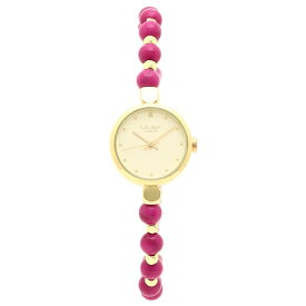 【返品保証】ローラローズ 腕時計 レディース Lola Rose LR4020 ピンク シャンパンゴールド