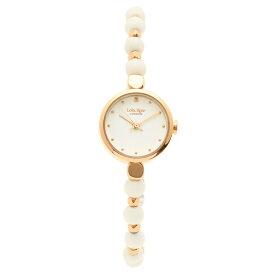 【返品保証】ローラローズ 腕時計 レディース Lola Rose LR4022 ホワイト ローズゴールド
