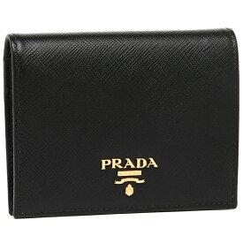 【返品OK】プラダ 折財布 レディース PRADA 1MV204 QWA F0002 ブラック