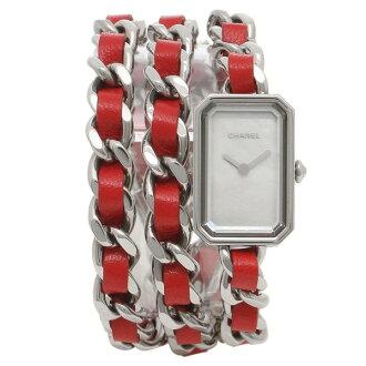 香奈尔手表redisupurumieru CHANEL H5313银子红珍珠