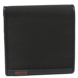 トゥミ 折財布 メンズ TUMI 19246 D ブラック