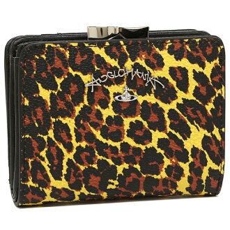 Vivien waist wood fold wallet Lady's VIVIENNE WESTWOOD 51010019 10255 yellow