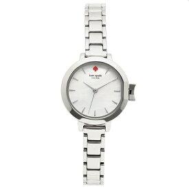 【72時間限定ポイント10倍】ケイトスペード 腕時計 レディース KATE SPADE KSW1362 ホワイトパール シルバー