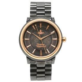 ヴィヴィアンウエストウッド 腕時計 レディース VIVIENNE WESTWOOD VV196GNGN ブラック ローズゴールド