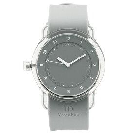【4時間限定ポイント10倍】ティッドウォッチ 腕時計 メンズ/レディース TID03-GY/GY クリア グレー TID Watches