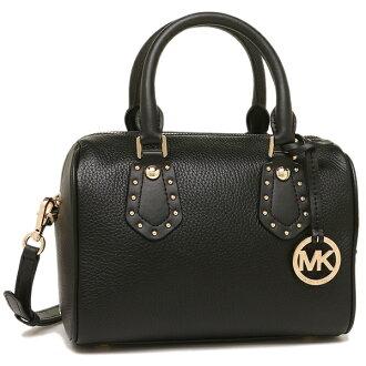 迈克尔套餐手提包挎包奥特莱斯女士MICHAEL KORS 35S8GXAS1L BLACK黑色
