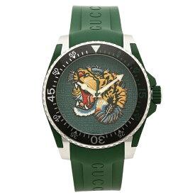 【30時間限定ポイント5倍】グッチ 腕時計 メンズ GUCCI YA136316 グリーン