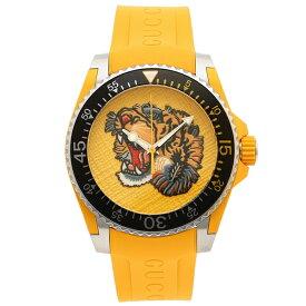 【30時間限定ポイント5倍】グッチ 腕時計 メンズ GUCCI YA136317 イエロー