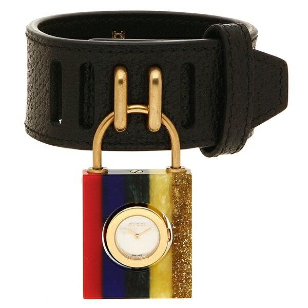 グッチ 腕時計 レディース GUCCI YA150507 496535 JA7B0 8521 ブラック レインボーカラー