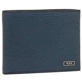トゥミ 折財布 メンズ TUMI 119838 CID コバルトブルー